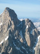 Rock Climbing Photo: Grand Teton, NW aspect