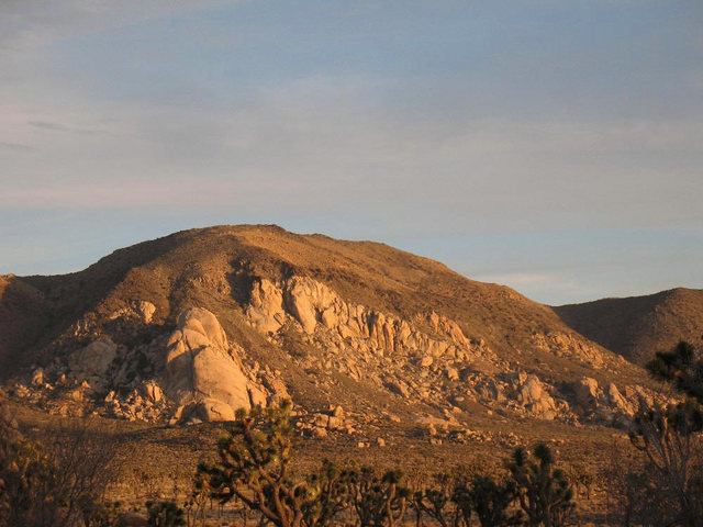 Saddle Rocks from Hidden Valley CG, Joshua Tree NP