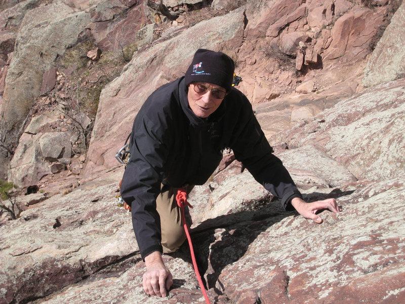 Identify the climber.