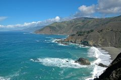 Rock Climbing Photo: The beautiful coast of Big Sur