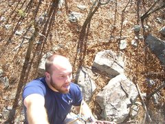 Rock Climbing Photo: Kiamichi mountains, pinnacle of pain