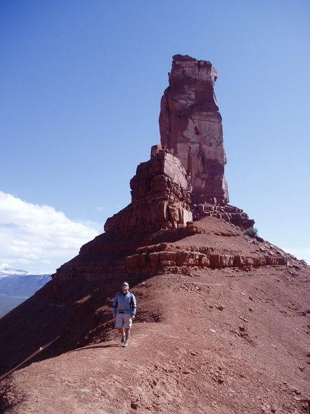 Rock Climbing Photo: saddle of castleton