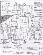 Rock Climbing Photo: Old fold out guide by John McMullen #6 1/2