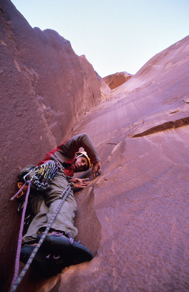 Ian McAlexander on the first pitch of Low Hanging Fruit.