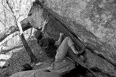 Rock Climbing Photo: Still working on dirty.