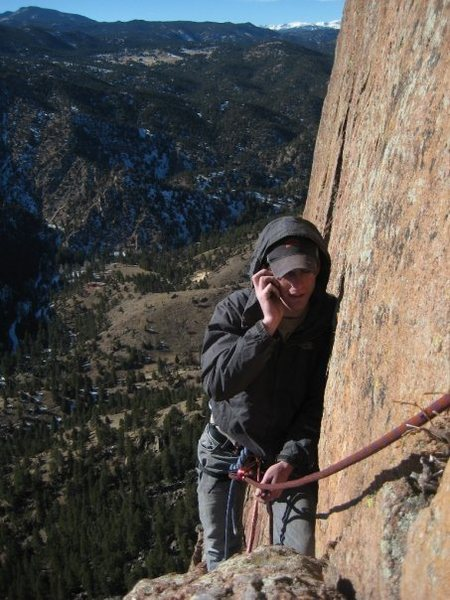 Rock Climbing Photo: Hello, I'd like a large cheese.... Yeah, I'm at Sh...