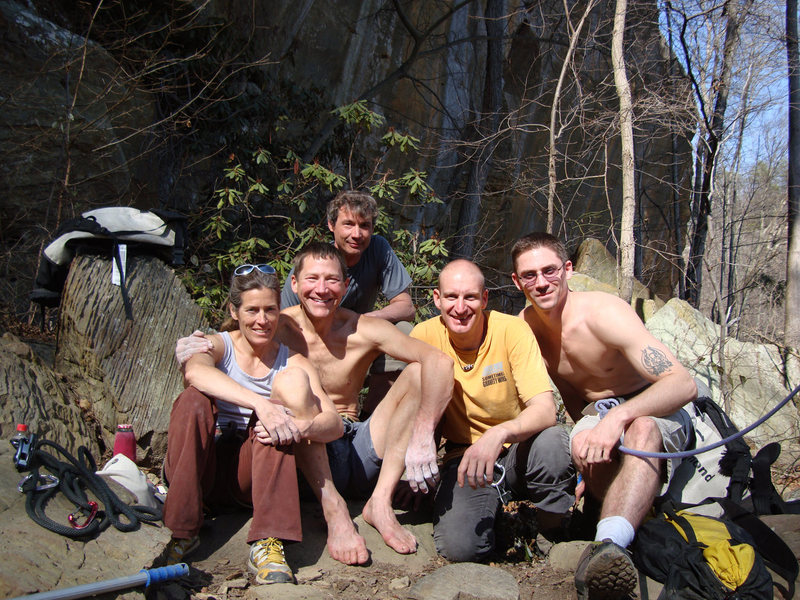 "Rock Climbing Photo: RRG March 09 Trip Lynn, Chick, ""Back Flip&quo..."