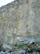 Rock Climbing Photo: Climbers on Gypsy (5.13b), The Shield