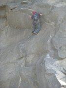 Rock Climbing Photo: Tavis on Mantle Marathon