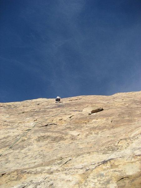 Rock Climbing Photo: Paul on first pitch.