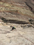 Rock Climbing Photo: Partick on third pitch