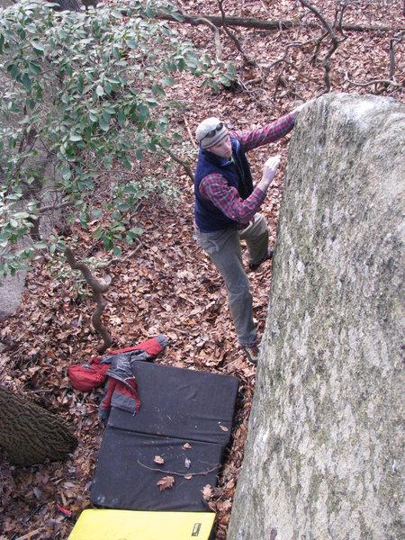 Rock Climbing Photo: homeless camp