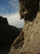 "Rock Climbing Photo: Aaron on ""Natural Selection."""