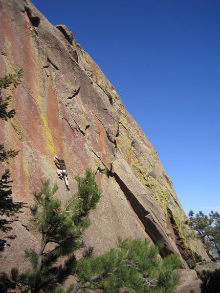 Rock Climbing Photo: Tarry seeking discipline.