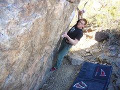 Rock Climbing Photo: Broken Rubber