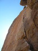 Rock Climbing Photo: Crack of Dawn.