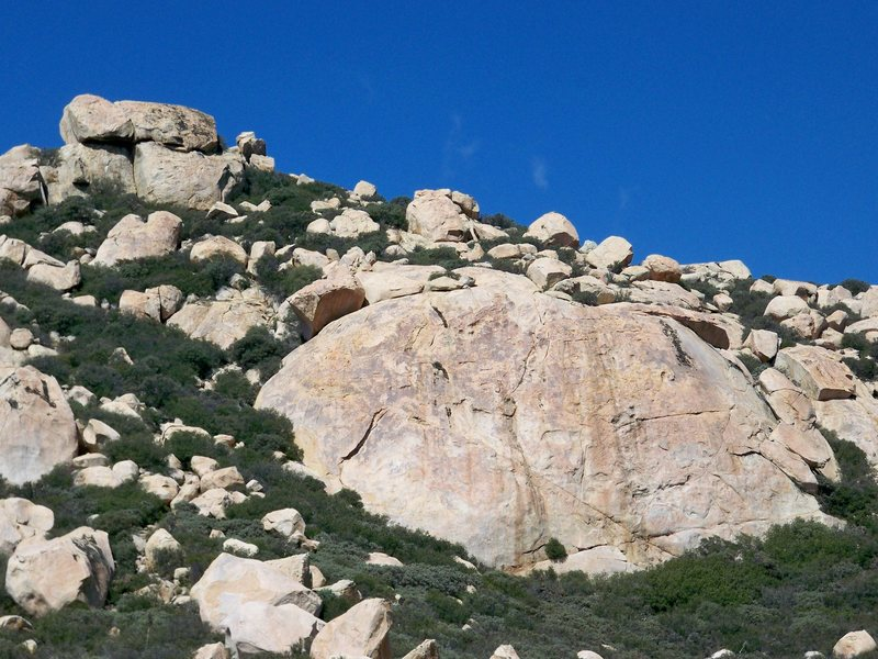 Lawson Peak, summit closeup