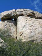 Rock Climbing Photo: Summit Crack, Lawson Peak