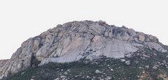 Rock Climbing Photo: Ramona Wall as seen from Ramona