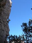 Rock Climbing Photo: High Pockets.