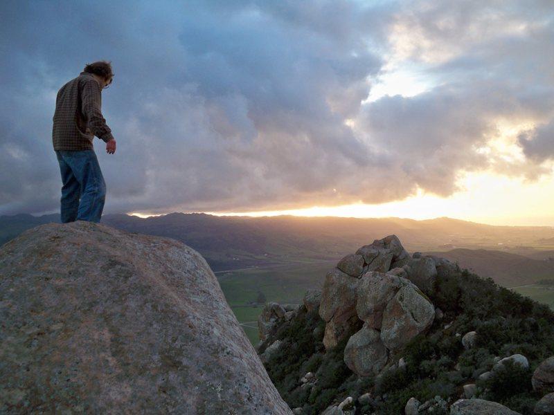On bishop peak