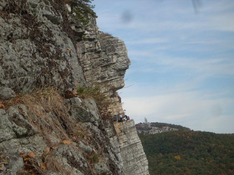 Rock Climbing Photo: Climbers on High e...