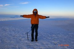 Rock Climbing Photo: On top of Rainier 14,411.