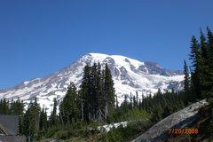 Rock Climbing Photo: Mt Rainier 2008