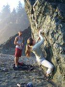 Rock Climbing Photo: Josie