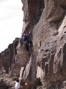 Rock Climbing Photo: Lower section of Distant Vision