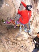 Rock Climbing Photo: Starting up 911