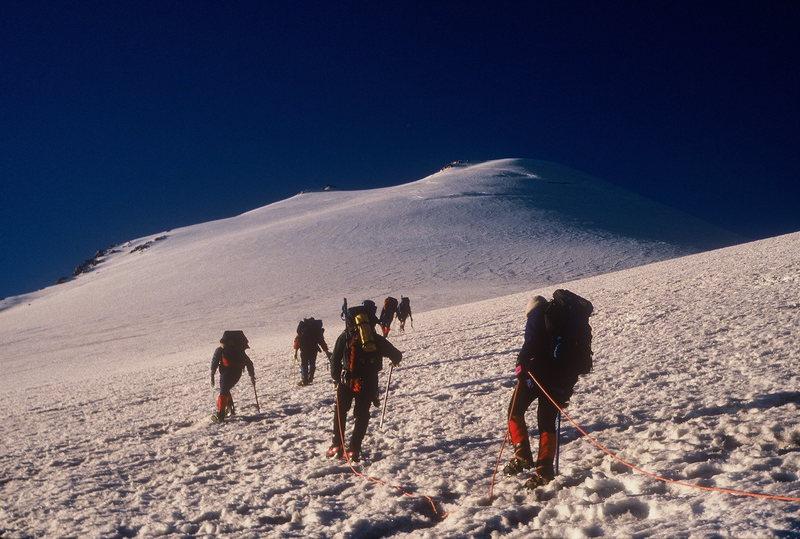 El Pico De Orizaba with Bob Markewich. By train. Spring Break 1993.