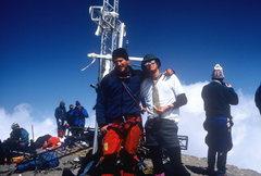 Rock Climbing Photo: El Pico De Orizaba with Bob Markewich. By train. S...