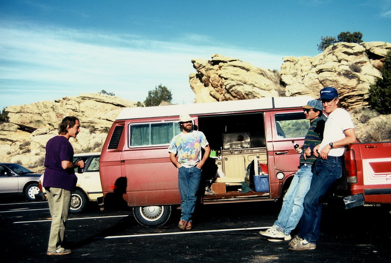 Rock Climbing Photo: Paul Midkiff, Bill Duncan, Michael Colacino, Doug ...