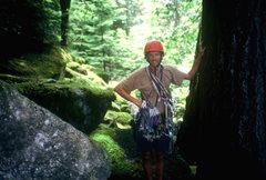 Rock Climbing Photo: Me at Squamish, BC 1997.
