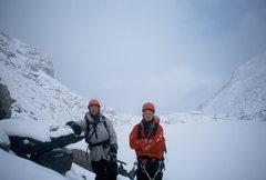 Rock Climbing Photo: Dwane Walters and Alan Ream- Chasm Lake, Longs Pea...
