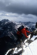 Rock Climbing Photo: Bob Markewich. Mt. Snowdon, 1999?