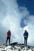 Rock Climbing Photo: Bret and Bob.  Snowdon 1999?