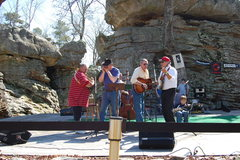 Rock Climbing Photo: Shady Bluegrass and Pa-Paw Schultz provding some g...