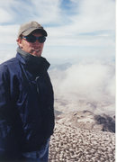 Rock Climbing Photo: On the top of what is left of mount St. Helens.  N...