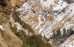 Rock Climbing Photo: Boreas and Eris