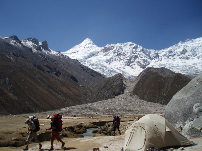 Rock Climbing Photo: View from base camp.