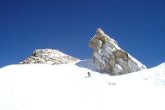 Rock Climbing Photo: Upper slopes of Urus Este