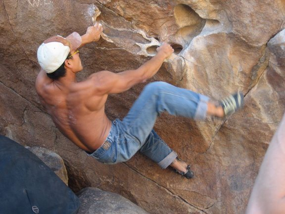 Rock Climbing Photo: Mopboys, Hueco