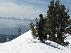 Rock Climbing Photo: Touring above North Lake Tahoe.