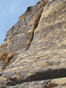 Rock Climbing Photo: Brett, p3, Hot Fudge Thursday
