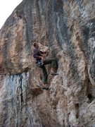 Rock Climbing Photo: Kapoopsie on the Gecko Wall.