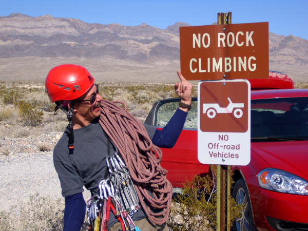 Rock Climbing Photo: F**K That!