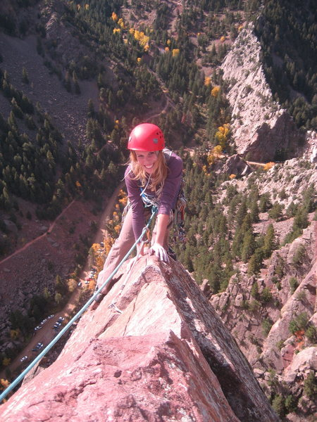 Topping out the the Yellow Spur in Eldo