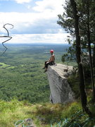 Rock Climbing Photo: Looking out over New York